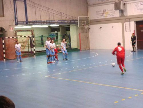 Calcio a 5 sconfitta contro Trident Sport